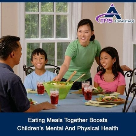 Eating Meals Together Boosts Children's Mental And Physical Health
