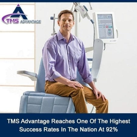 TMS Advantage Reaches One Of The Highest Success Rates In The Nation At 92%